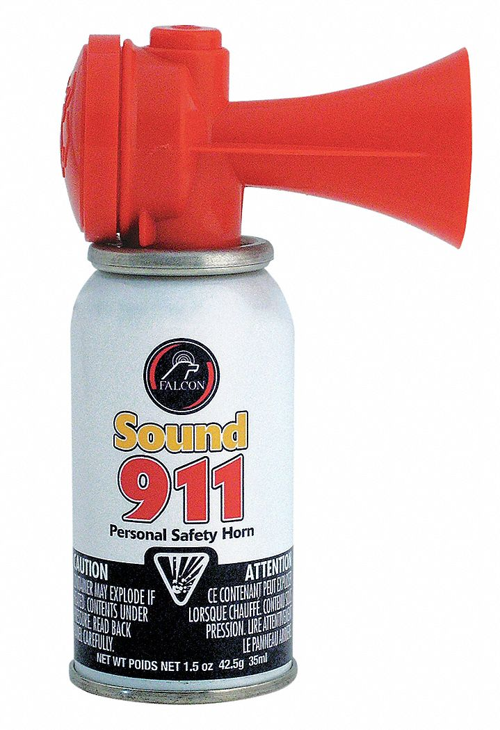 SAFETY SOUND Personal Safety Horn112dB  10 ft  3UYL9