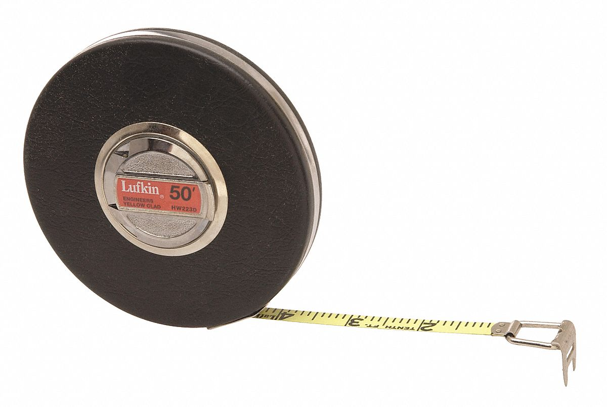 CRESCENT LUFKIN 50 ft Steel SAE Engineers Long Tape