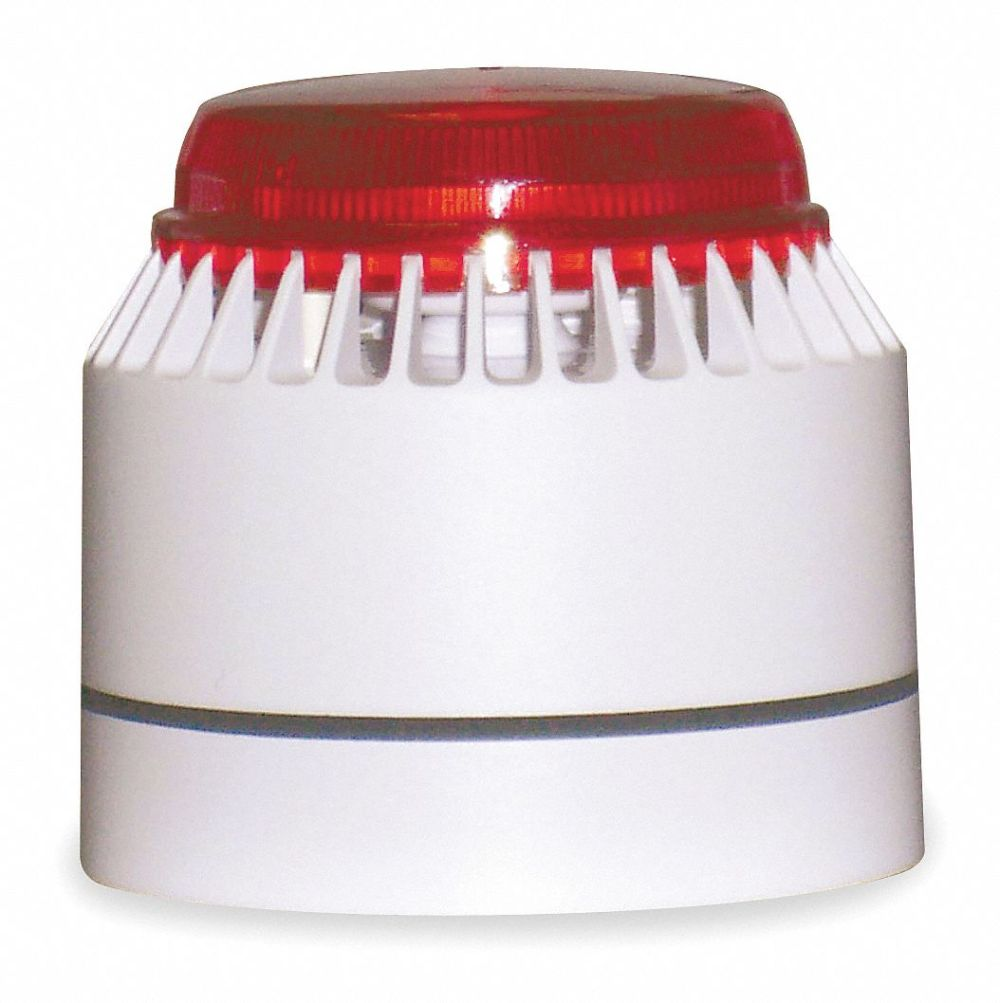 medium resolution of federal signal horn strobe continuous sound pattern 18 to 30vdc voltage decibels 82 to 100db color white red 3wu57 lp7 18 30r grainger