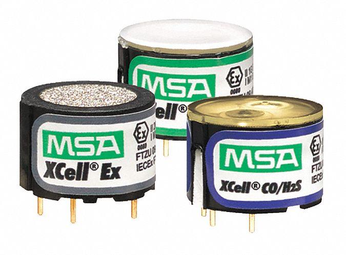 MSA Replacement Sensor, Detects Carbon Monoxide, Hydrogen