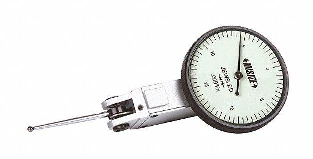 INSIZE Long Stylus Dial Test Indicator, Vertical Indicator