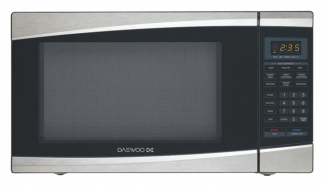 silver microwave 1 3 cu ft 120 v