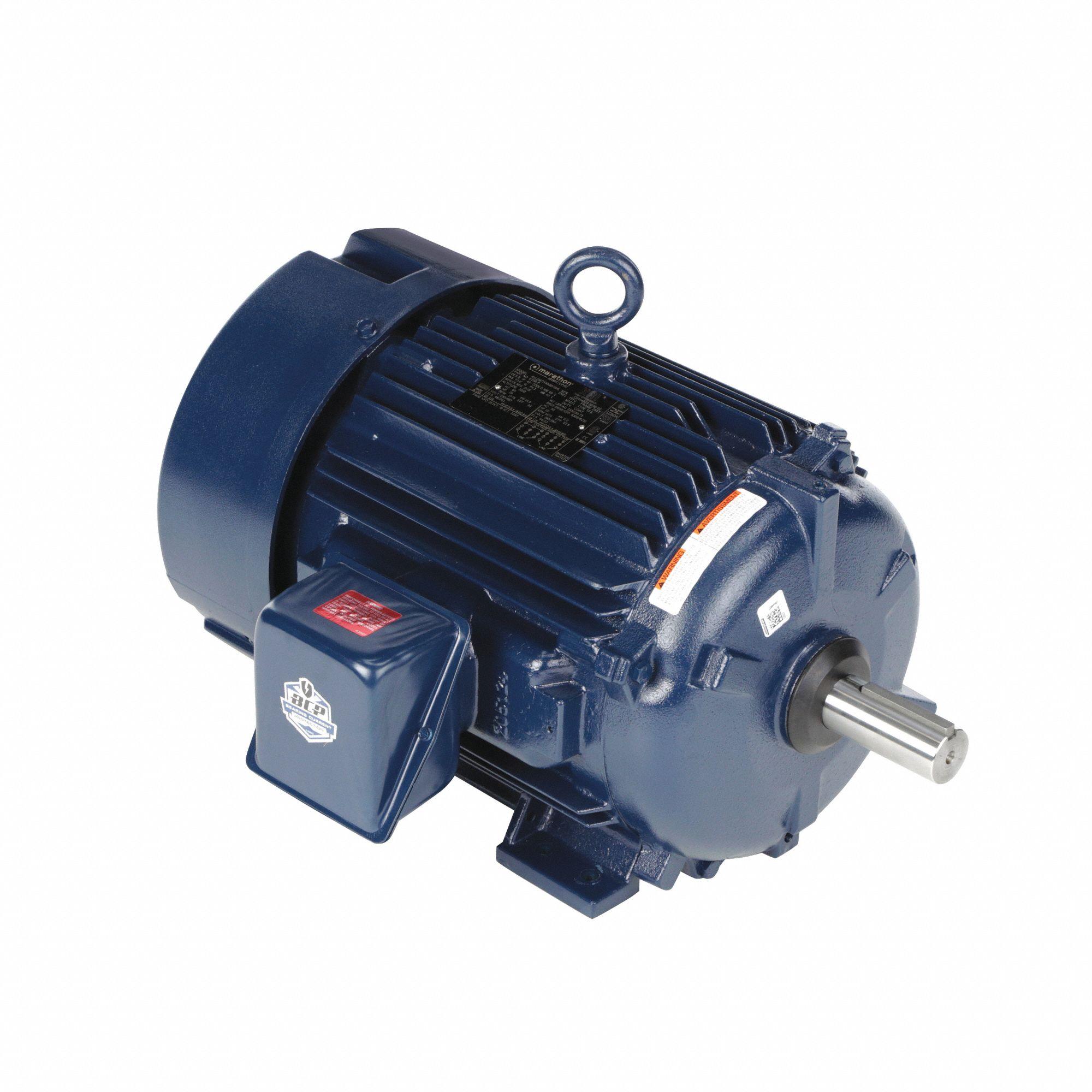 hight resolution of marathon motors 20 hp general purpose motor 3 phase 1775 nameplate rpm voltage 230 460 frame 256t 40z956 256ttfna16070 grainger