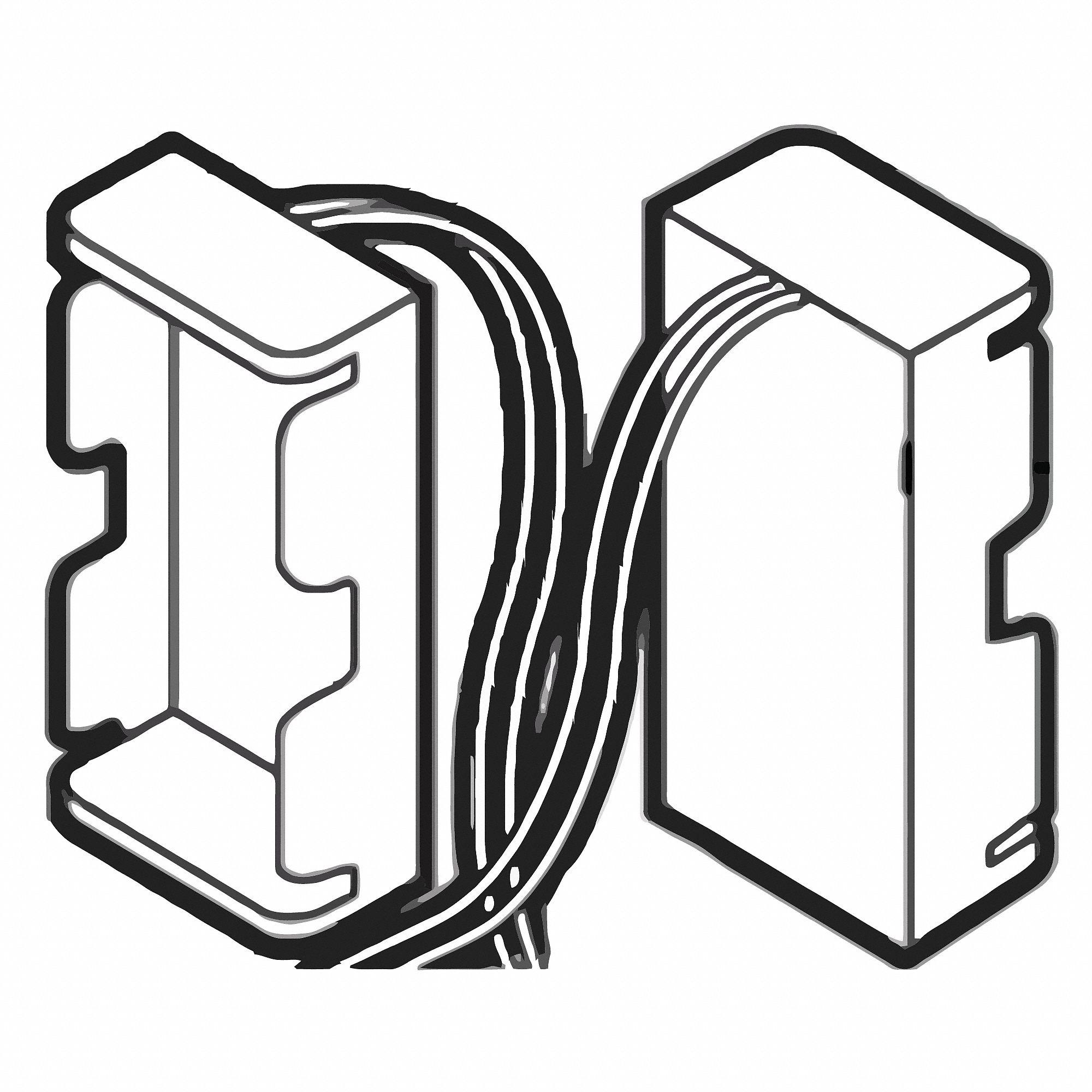 MOEN Flush Valve Battery Holder, For Use With Grainger