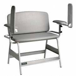 Blood Draw Chair Hanging Chairs Indoor Labconco Bariatric White Seat Depth 20 Width 22 Height 18 41v528 1132201 Grainger