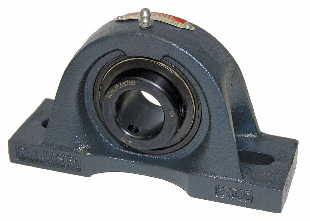 pillow block bearing number of bolts 2 ball bearing type 1 7 16 in bore dia
