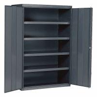 """EDSAL Industrial Storage Cabinet, Gray, 84"""" H X 48"""" W X 24 ..."""