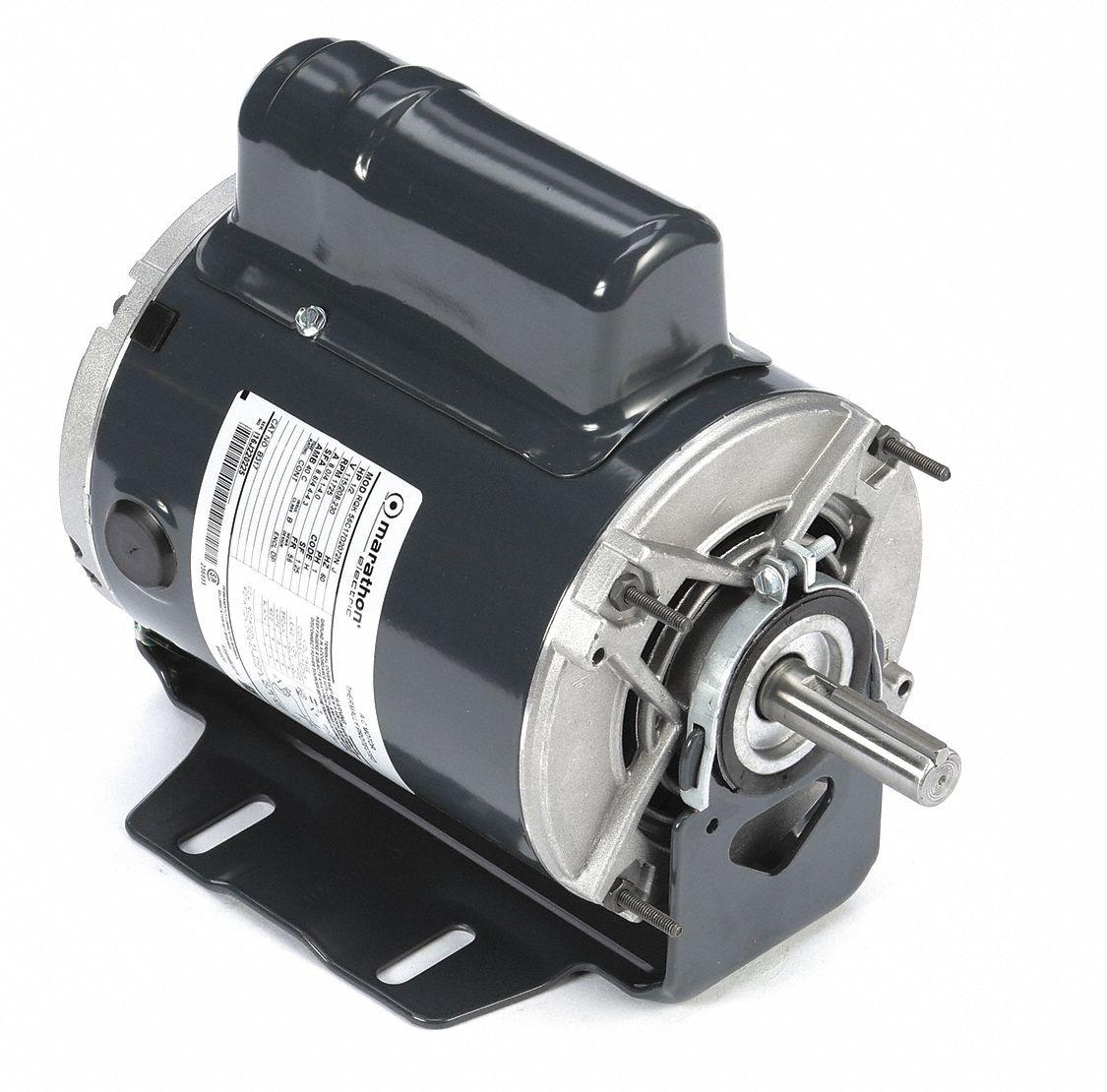 hight resolution of marathon motors 1 2 hp general purpose motor capacitor start 1725 nameplate rpm voltage 115 208 230 frame 56 46n369 056c17d2072 grainger
