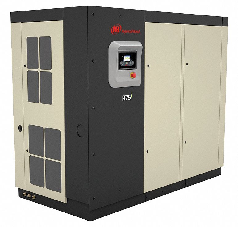 INGERSOLL RAND 3-Phase 100 HP Rotary Screw Air Compressor