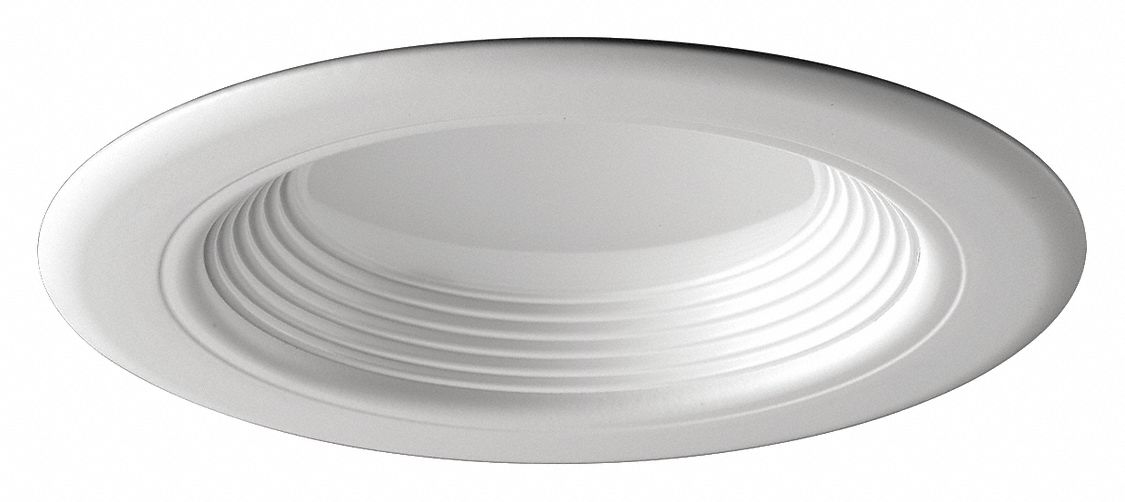 4 in led recessed down light for new construction non ic rated 8 9 max wattage 3 000 k color