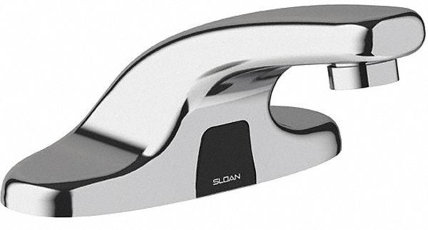 chrome low arc bathroom sink faucet motion sensor faucet activation 0 5 gpm