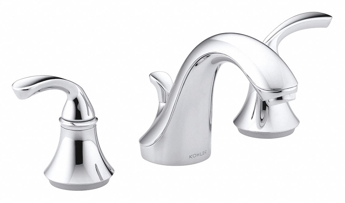 Faucet configurations vary, so chances are you'll run into a snag when replacing a kitchen faucet on your own. KOHLER Chrome, Gooseneck, Bathroom Sink Faucet, Manual ...