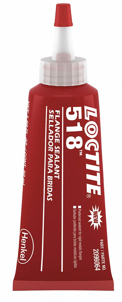 LOCTITE Anaerobic Red Gasket Sealant 50mL  49CR93