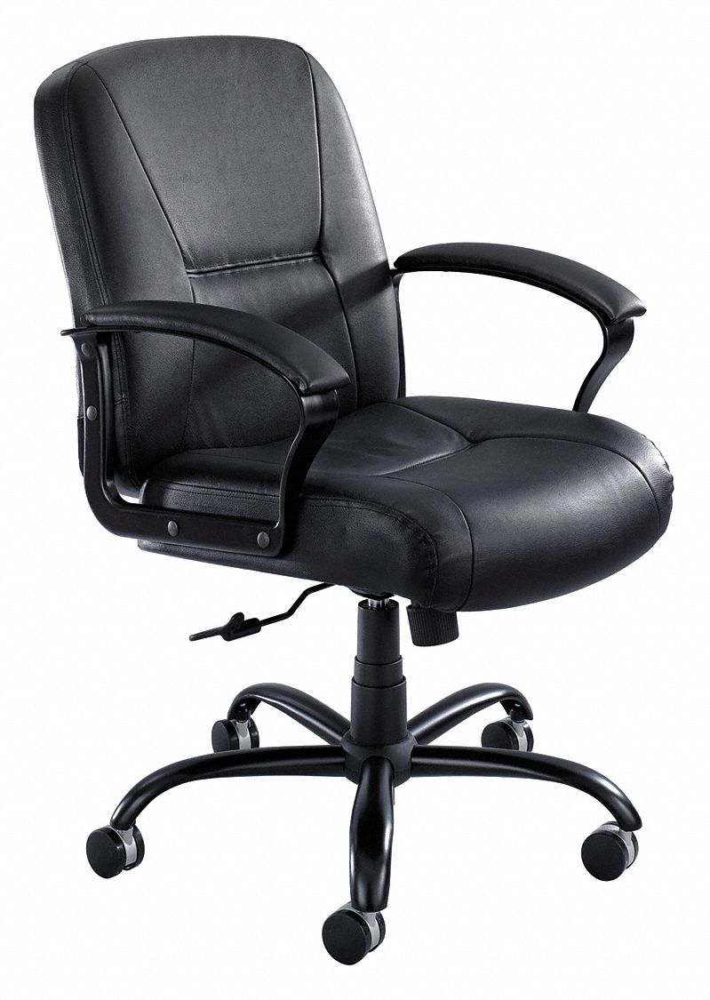 tall desk chairs with backs christopher knight chair safco black leather big and 23 back height arm style fixed