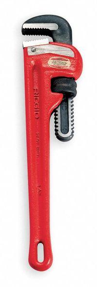 "RIDGID Pipe Wrench,48"" L,Cast Iron - 4NV21|31040 - Grainger"