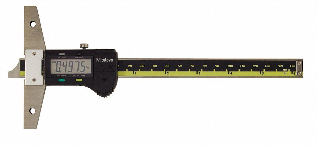 MITUTOYO Electronic Digital Depth Gage 0 to 6 Range 0