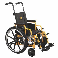 Yellow Wheelchair Kirklands Dining Chairs Grainger Approved 250lb 14 In Seat Black 4eke1 Mds806140pede
