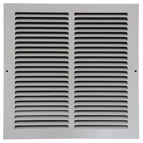 Steel White Return Air Vent Covers