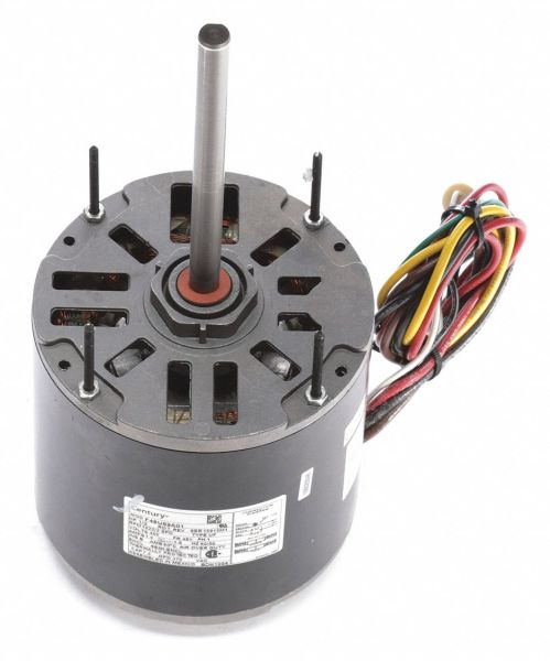small resolution of century 1 2 hp condenser fan motor permanent split capacitor 1625 nameplate rpm 460 voltage frame 48y 4mb95 bdh1054 grainger