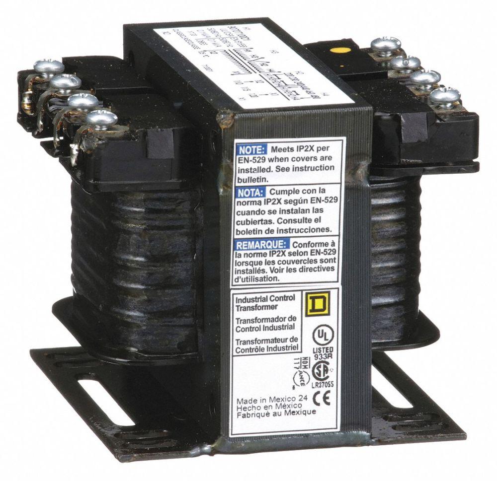 medium resolution of square d control transformer input voltage 240vac 480vac output rh grainger com transformer wiring guide control