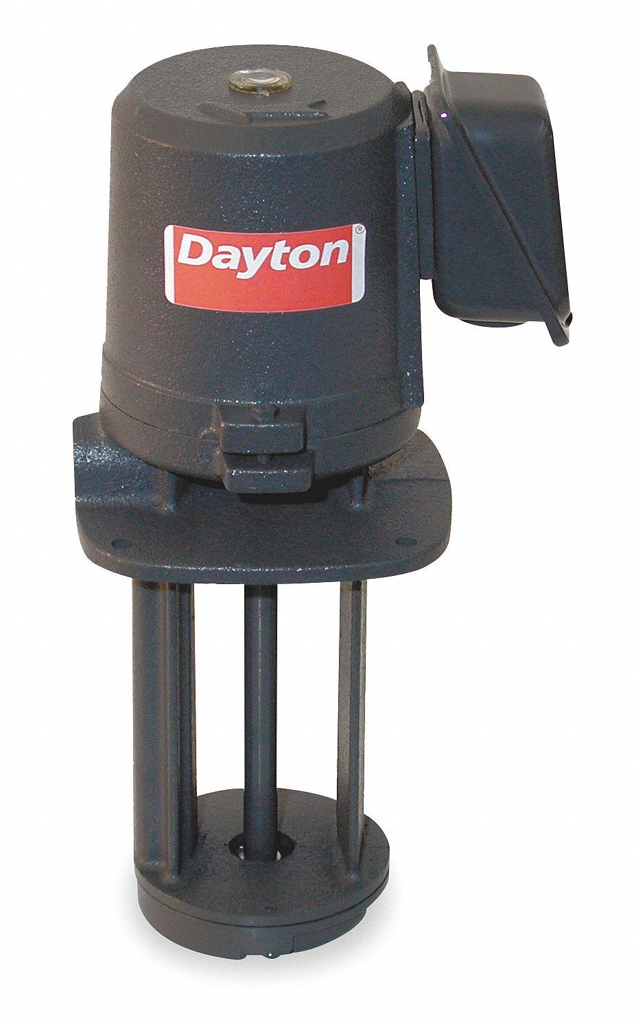 DAYTON 18 HP 115230V Immersion Oil Coolant Pump 3GRV5