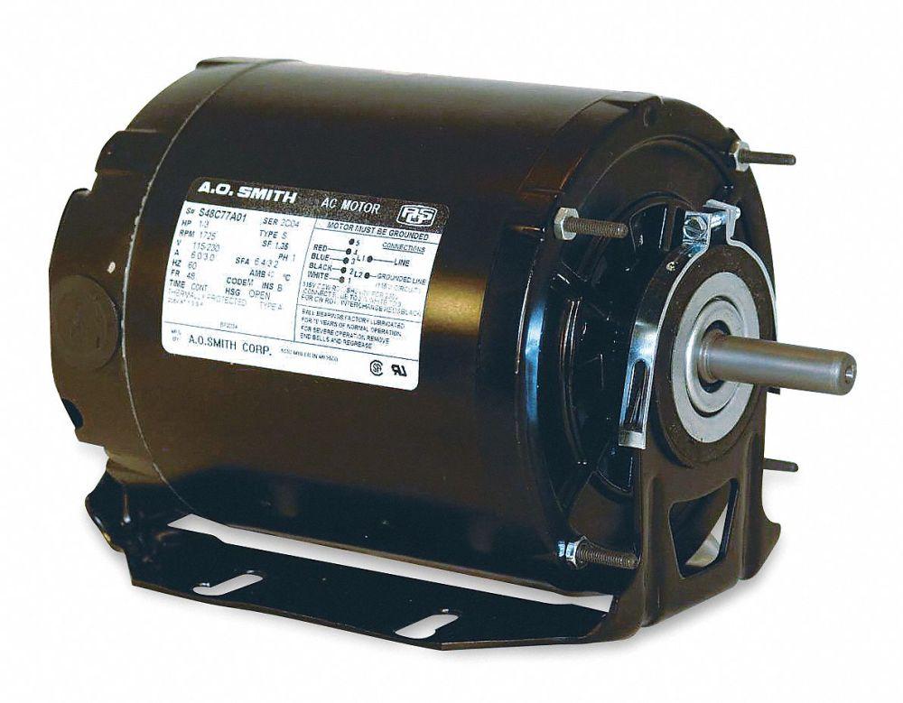 medium resolution of century 1 2 hp belt drive motor split phase 1725 nameplate rpm 115 voltage frame 48 4ue85 gf2054 grainger
