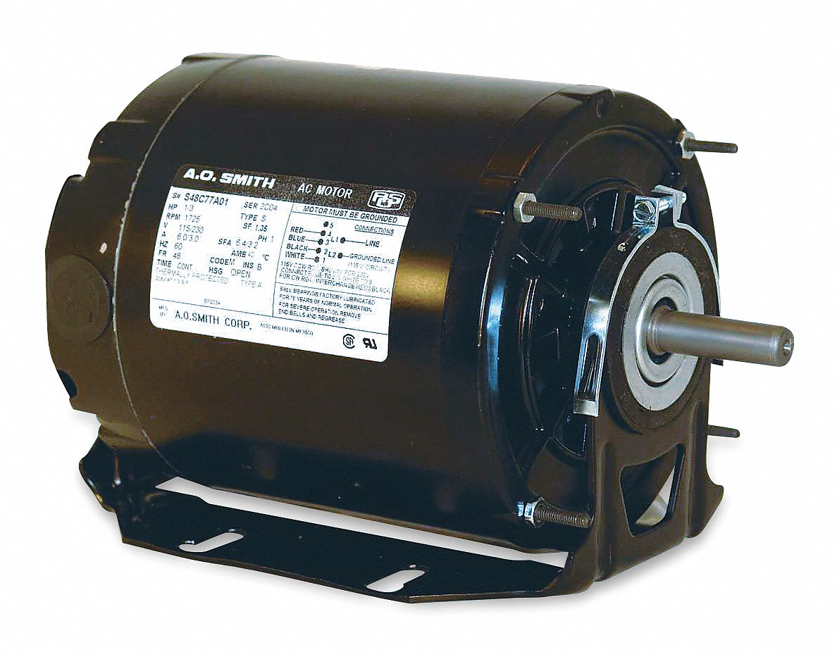 hight resolution of century 1 2 hp belt drive motor split phase 1725 nameplate rpm 115 voltage frame 48 4ue85 gf2054 grainger