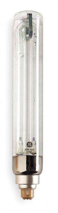 GE LIGHTING 55 Watts Low Pressure Sodium Lamp, T16, 1800K ...