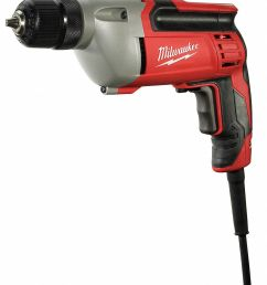 milwaukee electric drill 3 8 in 0 to 2800 rpm 8 0a 4vyz3 0240 20 grainger [ 1027 x 1200 Pixel ]