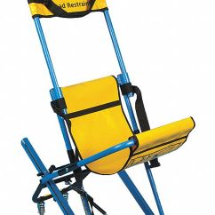 Evacuation Chairs Model 300h Mk4 Desk Chair Gold Evac Aluminum Stair With 400 Lb Weight Capacity Blue Textured Frame Yellow Hammock And Headr 4wlz7 Grainger