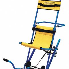 Evacuation Chairs Model 300h Mk4 Outdoor Wicker Au Evac Chair Stair Grainger Industrial Supply Aluminum With 400 Lb Weight Capacity Blue Textured Frame Yellow Hammock And Headr