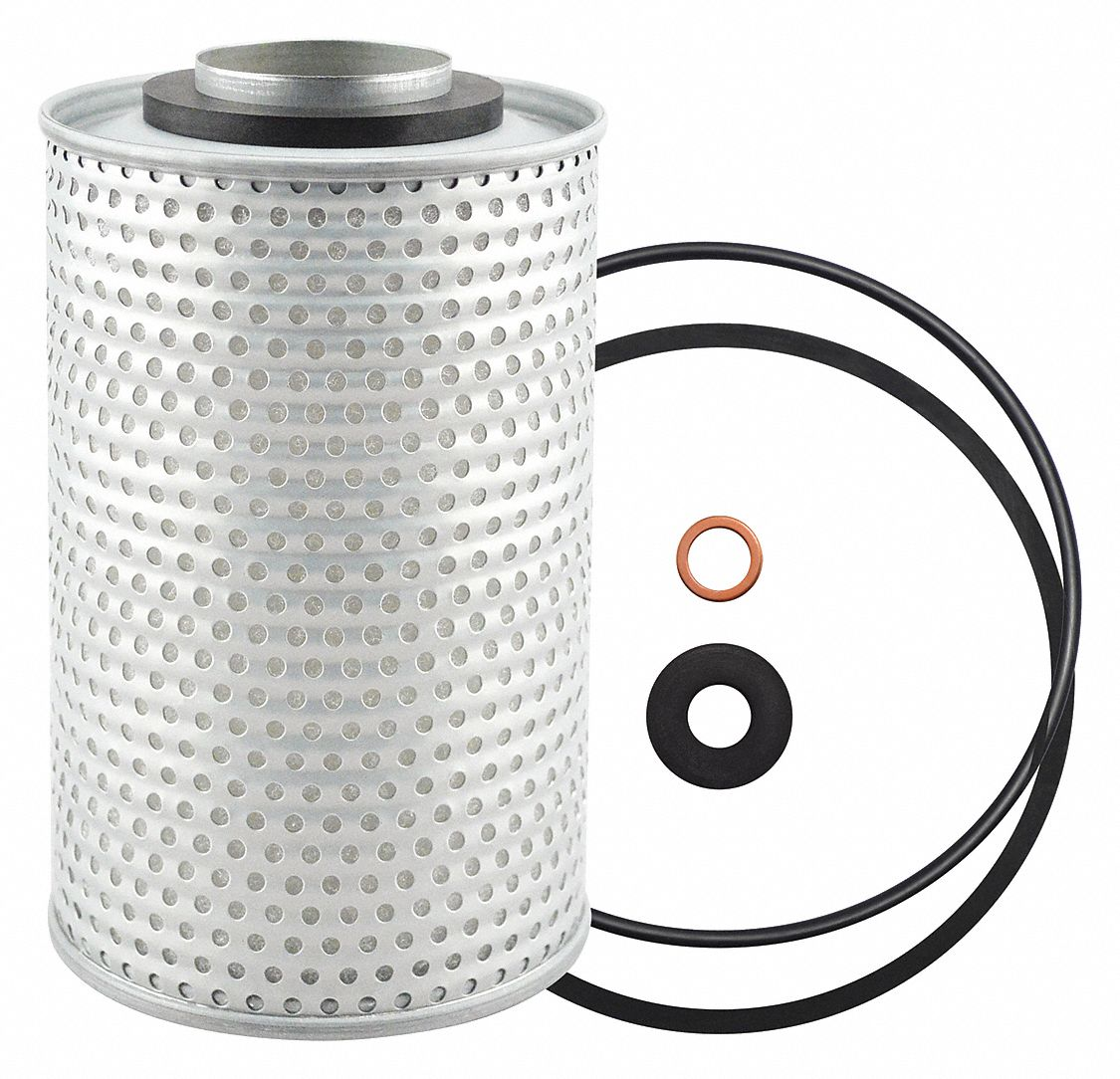 BALDWIN FILTERS Spin-On Oil Filter Element, Length: 6-1/16