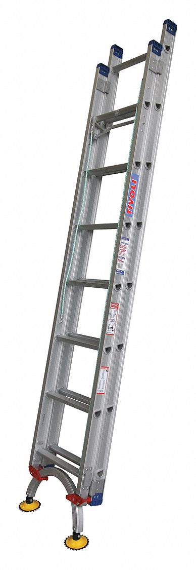 TIVOLI 16 ft. Aluminum Extension Ladder, 300 lb. Load