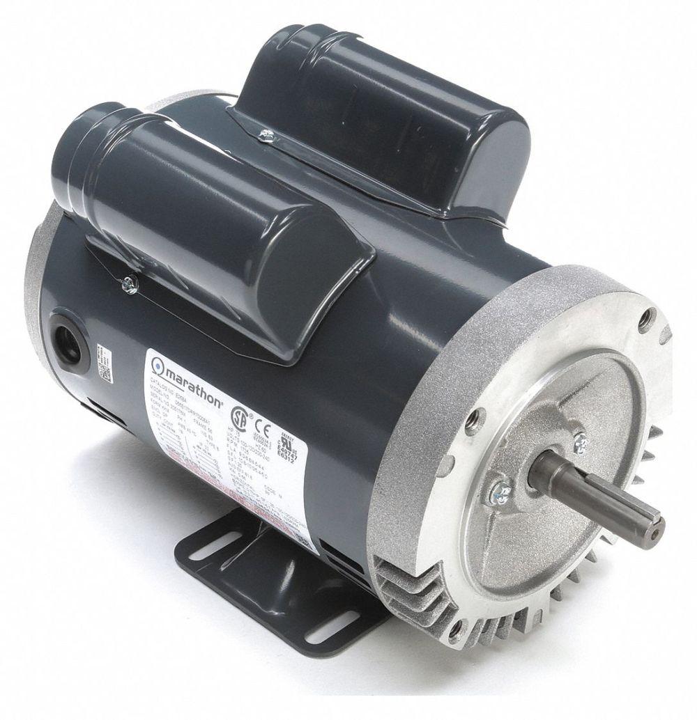 medium resolution of marathon motors 3 4 hp general purpose motor capacitor start run 1725 nameplate rpm voltage 120 240 frame 56c 54jh44 056b17drr70008a1 grainger