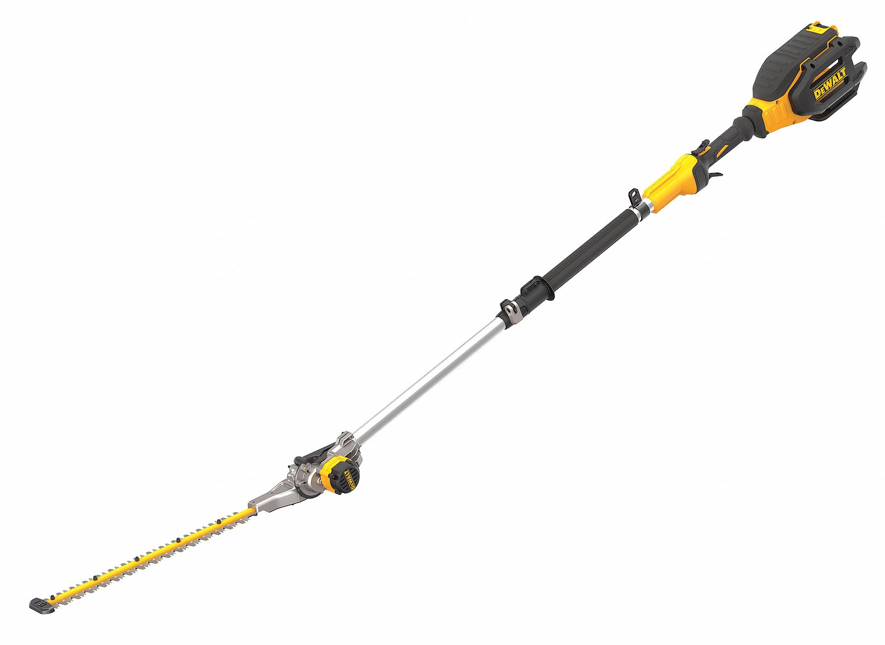 DEWALT Pole Hedge Trimmer, Double-Sided Pole Blade Type