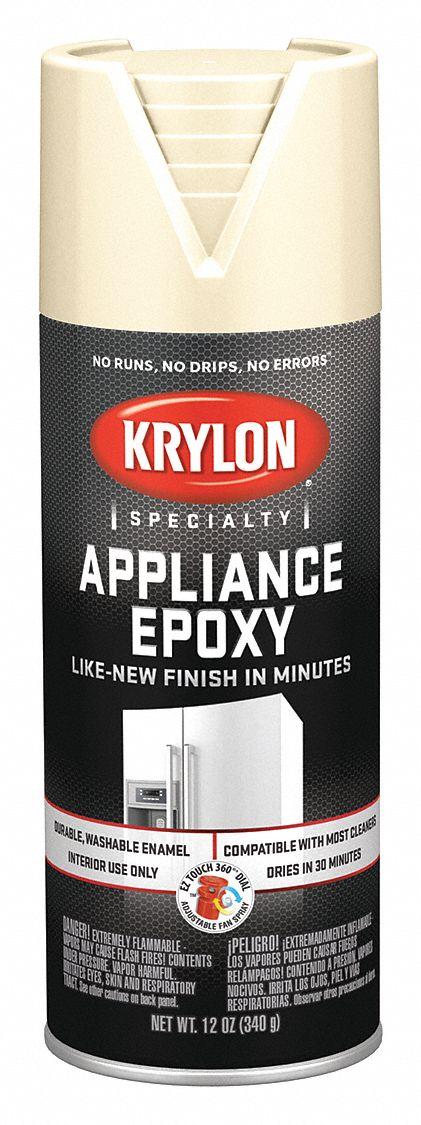 Krylon Appliance Epoxy Spray Paint In Gloss Almond For