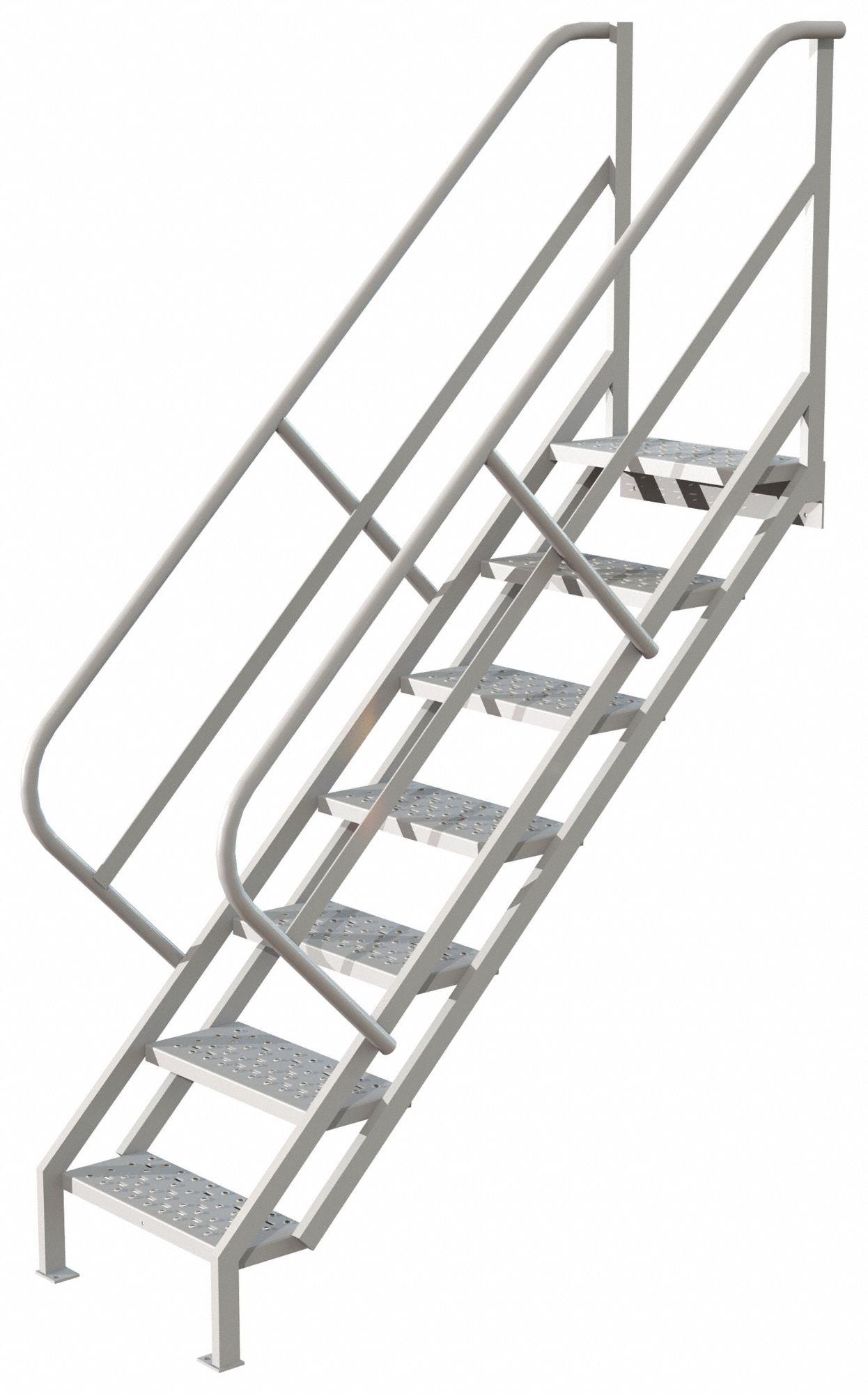 TRI-ARC Steel Stair Unit, 66-1/2