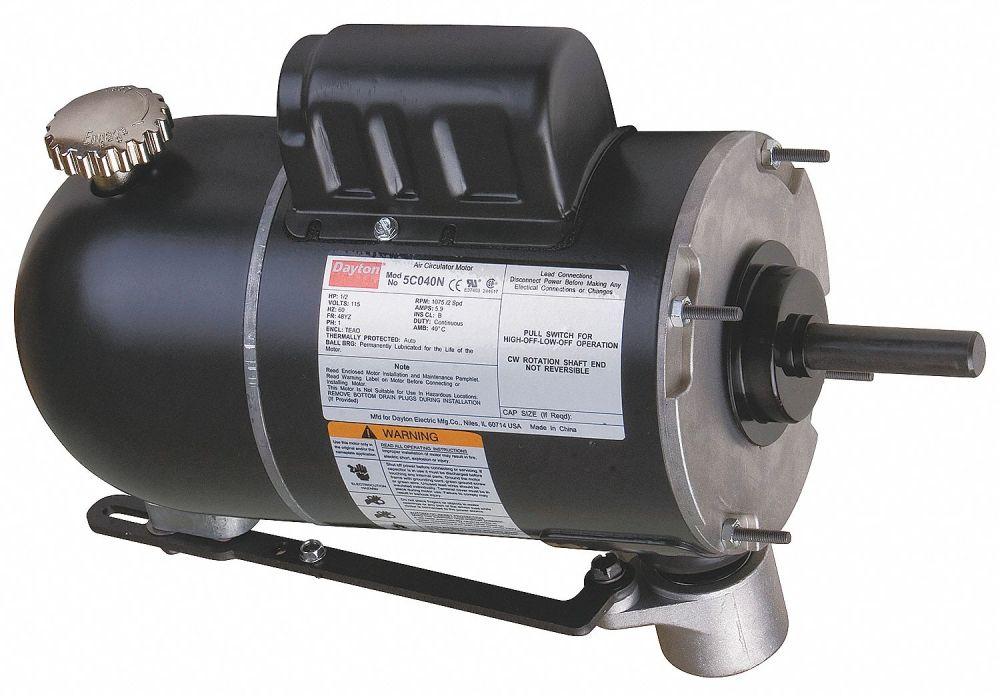 medium resolution of dayton 1 2 hp oscillating fan motor permanent split capacitor 875 1075 nameplate rpm 115 voltage frame 4 5c040 5c040 grainger