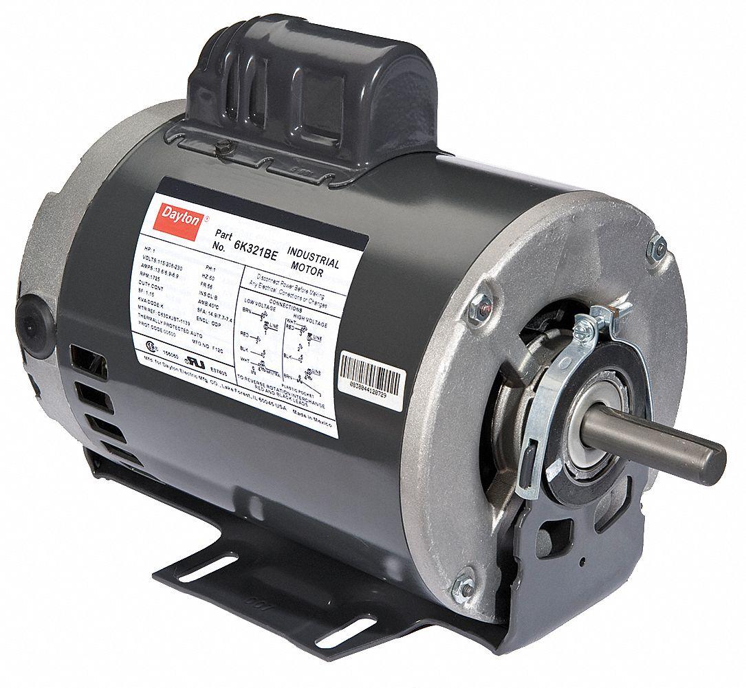 Dayton Electric Motor Capacitor Wiring