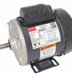 dayton 1 3 hp general purpose motor capacitor start 1725 nameplate rpm voltage 115 208 230 frame 56 5k121 5k121 grainger [ 1125 x 971 Pixel ]