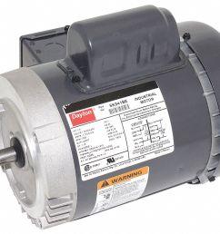 dayton 1 3 hp general purpose motor capacitor start 1725 nameplate rpm voltage 115 208 230 frame 56c 5k341 5k341 grainger [ 1125 x 942 Pixel ]