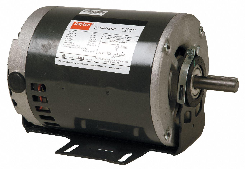 hight resolution of dayton 1 2 1 4 hp general purpose motor split phase 1725 1140 nameplate rpm voltage 115 frame 56 5k423 5k423 grainger
