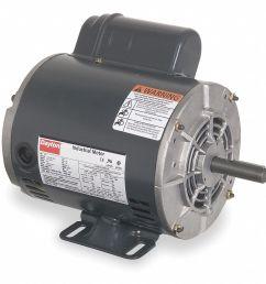 dayton 3 4 hp general purpose motor capacitor start 1725 nameplate rpm voltage 115 208 230 frame 56 5k460 5k460 grainger [ 1032 x 974 Pixel ]