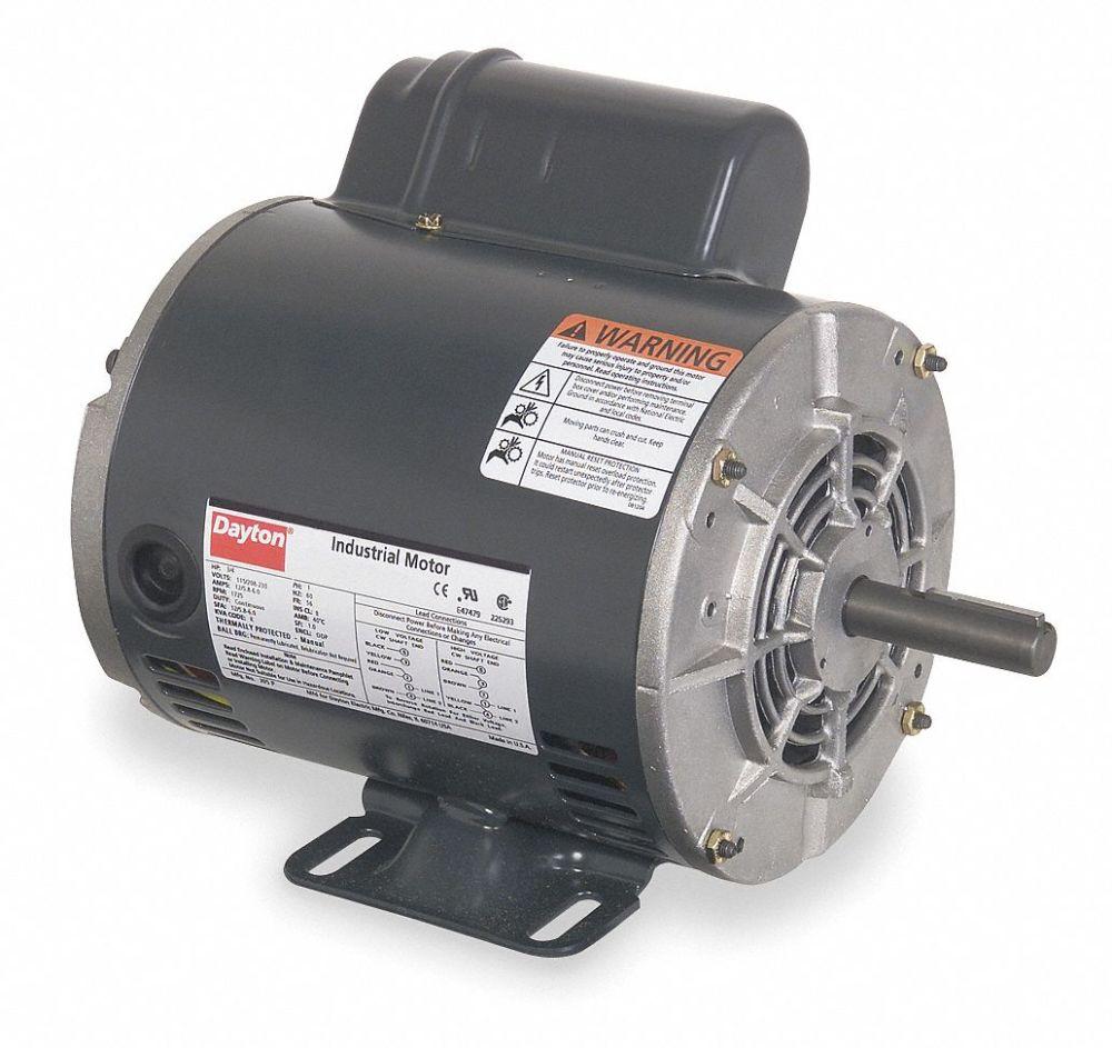 medium resolution of dayton 3 4 hp general purpose motor capacitor start 1725 nameplate rpm voltage 115 208 230 frame 56 5k460 5k460 grainger