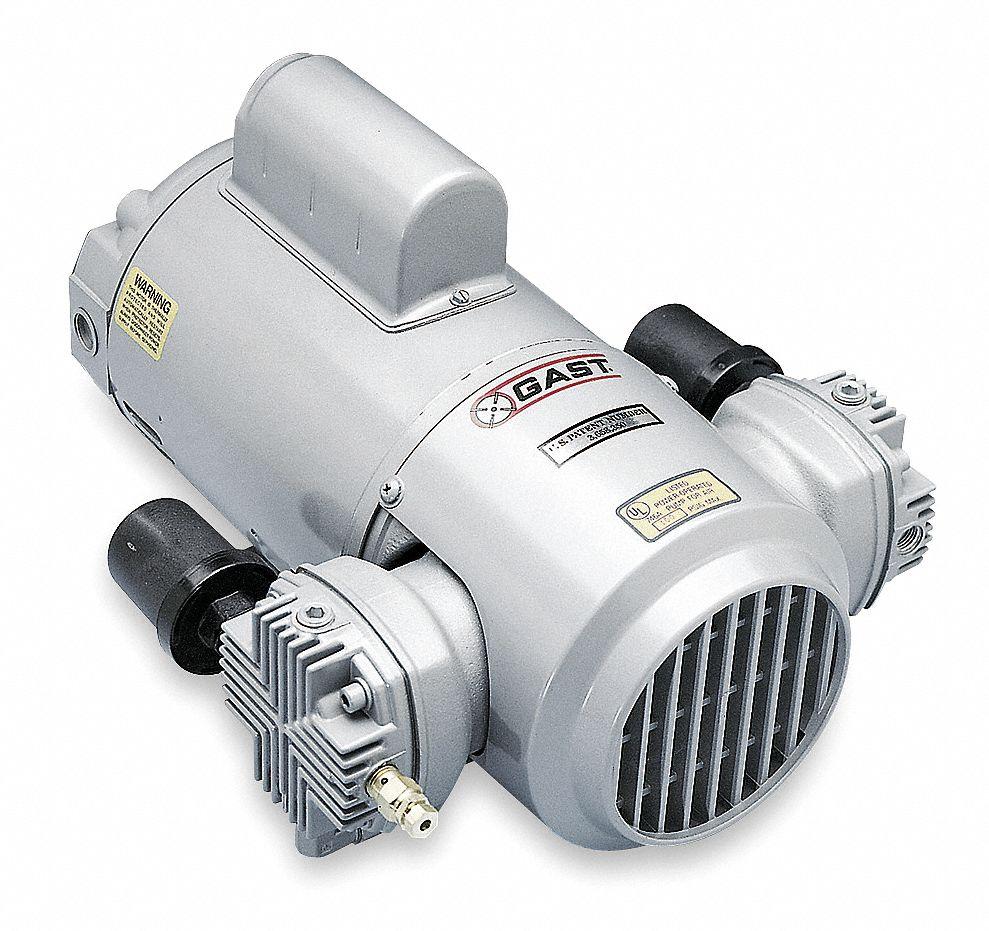 medium resolution of gast 1 2 hp piston air compressor vacuum pump 115 230vac 50 50 max psi cont int 5ka94 4lcb 251 m450x grainger