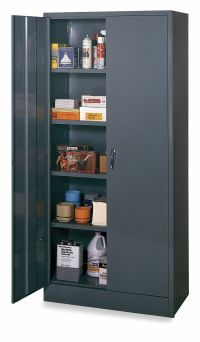 """EDSAL Commercial Storage Cabinet, Gray, 78"""" H X 36"""" W X 18 ..."""