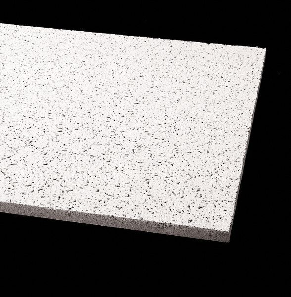 ceiling tile width 24 in length 48 in 5 8 in thickness mineral fiber pk 12