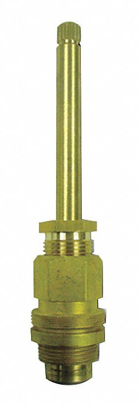 gerber faucet valve stem for use with gerber bathtub and shower faucet valves