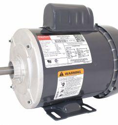 dayton 1 2 hp general purpose motor capacitor start 3450 nameplate rpm voltage 115 208 230 frame 56 5ukf1 5ukf1 grainger [ 1800 x 1447 Pixel ]