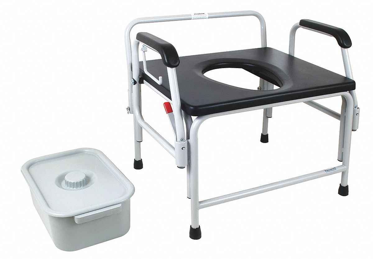 bariatric transport chair 500 lbs folding chairs commode usa